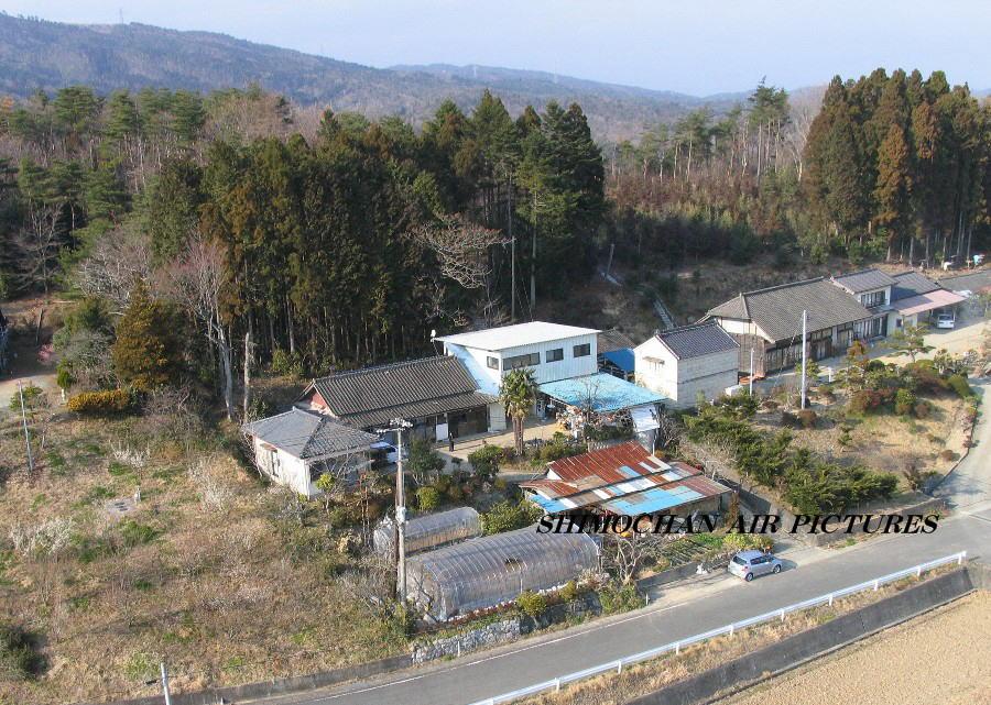 福島県広野町の知人宅の空撮