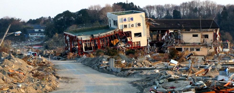 東日本大震災 福島県新地町の被...